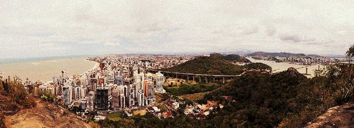 Morro do Moreno - vista panorâmica